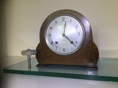 Fabulous Garrard Striking Mantel Clock, Fully Serviced, Original Key And Springs