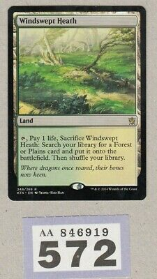 MTG Magic the Gathering - Windswept Heath - Khans of Tarkir