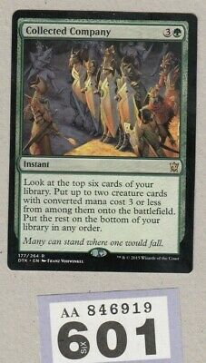 MTG Magic the Gathering - Collected Company - Dragons of Tarkir