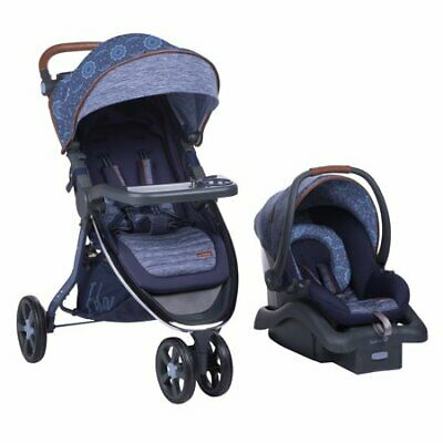 Baby Travel System removable car seat stroller cozy memory foam seat pad safe
