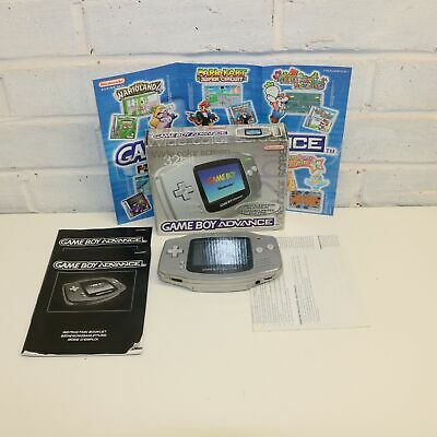 Limited Edition Platinum - Gameboy Advance Handheld Console - 32 Bit - Boxed