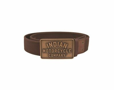 Indian Motorcycle Leather Belt Textile (XL)