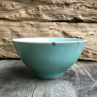 Antique Asian Chinese Celadon Bowl - China Ming Qing Dynasty