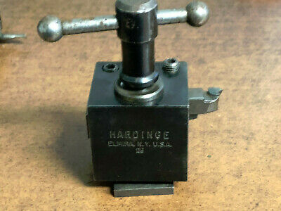Hardinge Lathe D-9 Wedge Type Tool Holder
