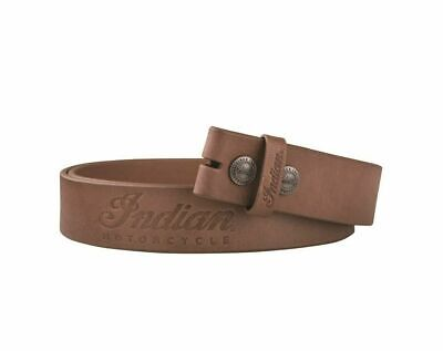 Genuine Indian Motorcycle - Leather Belt - Size Small