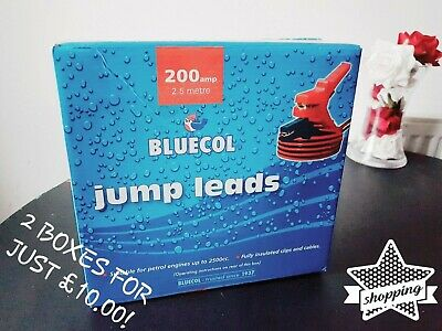 Bluecol's 200amp, 2.5 Metre Jump Leads/Booster Cables (CHEAPEST ON THE NET!)