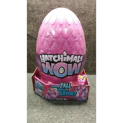 """Spin Master WOW Hatchimals Interactive Llalacorn Toy With Re-Hatchable Egg 32"""""""