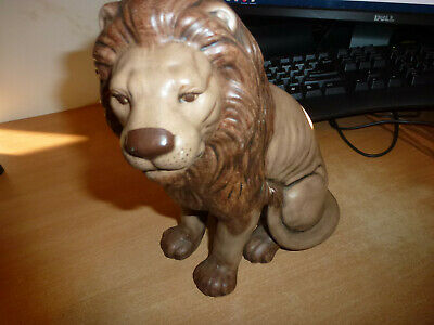 Vintage Art Pottery African Lion Ka8 77 Figure