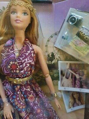Barbie articulated doll The Look Festival boho hippie new in box black label