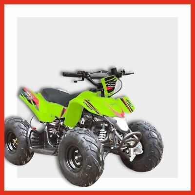 NRG50XR - Kids mini Quad bike 50cc 2 Stroke Automatic ATV Dune buggy Green