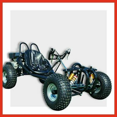 HA-270X - 270cc Advanced Full sized Hand controlled Unleaded Go kart Buggy Black