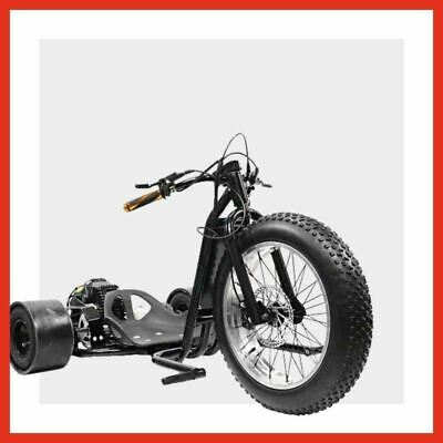 DT49SS - Kids mini Drift trike Premium Big wheel Fat boy CNC Dirt bike Black Red