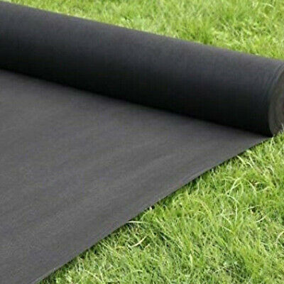5m Heavy Duty Weed Control Fabric Membrane Garden Landscape Ground Cover Sheet