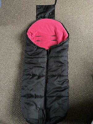 Deluxe Footmuff//Cosy Toes Compatible with Joolz Day Pushchair Pink