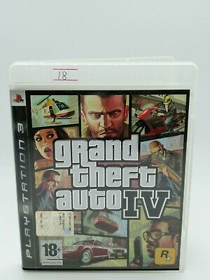 GTA 4 grand theft auto IV PS3 italiano videogioco PlayStation 3 FUNZIONANTE