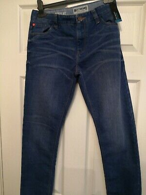 Next Boys Jeans regular Adjustable Waist Aged For 12 Years