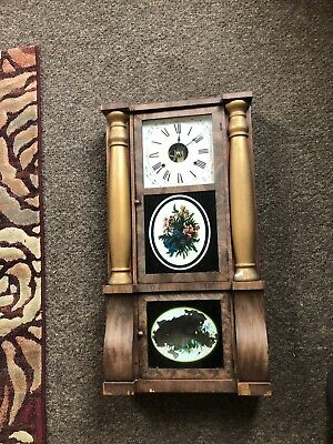 american Wall Clock Antique Project