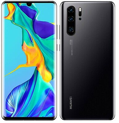 Huawei P30 Pro 6.47'' Smartphone 128GB 40MP Sim-Free Unlocked - (Black) B+