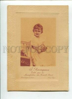 3091628 ADVERTISING Lovely Girl w/ BISCUITS PERNOT vintage Card