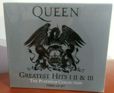 Queen, Greatest Hits I II & III: The Platinum Collection 3 x CD SET  New Sealed