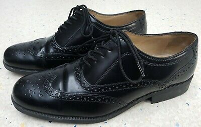 Mens Clarks Leather Brogues Shoes Size UK  9