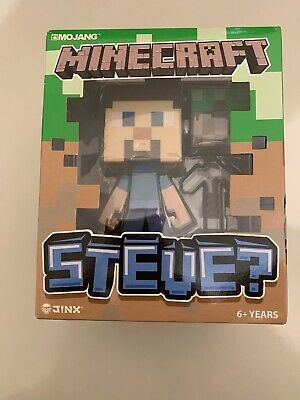 Minecraft Steve Collectable Vinyl Action Figure Toy