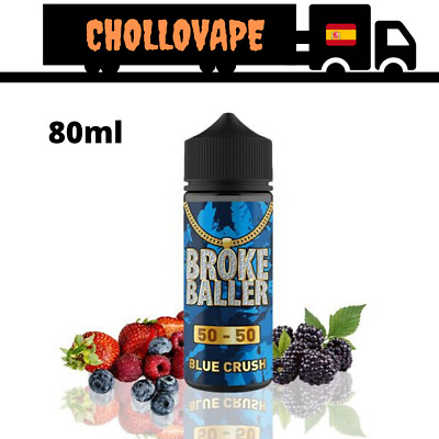 Broke Baller Blue Crush Eliquid 80ml 0mg