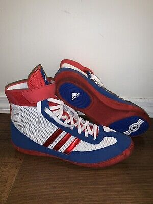 Rare Adidas Combat Speed 4 Wrestling Shoes Sz 9.5