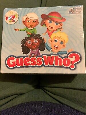 McDonalds Happy Meal Guess Who? Game-Hasbro Gaming- Brand New