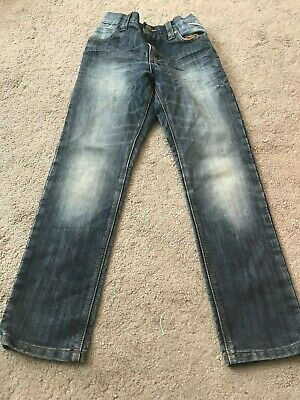 Next Boys Blue Regular Fit Jeans Size 8 Years