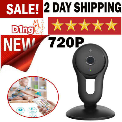Home Security WiFi Camera 720p HD With Night Vision  Built in MIC & Speaker NEW