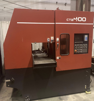 "16.9"" X 16.9"" Amada Ctb400 Cnc Vertical Carbide Band Saw: Ybm #11084"