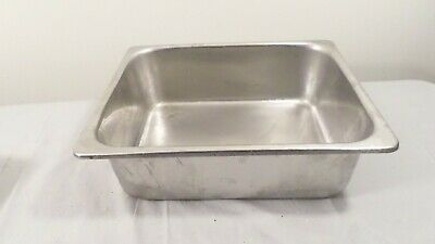 """2 Vintage Steam Table Tray Insert 12.75 x 10.25 x 4"""""""
