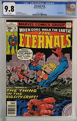 Eternals #16 Cgc 9.8 White Pages