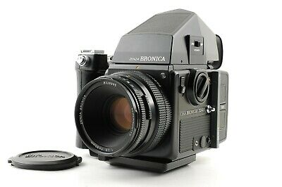 【MINT+++】 Bronica SQ-Ai + ZENZANON-PS 80mm f2.8 AE Finder Grip from Japan