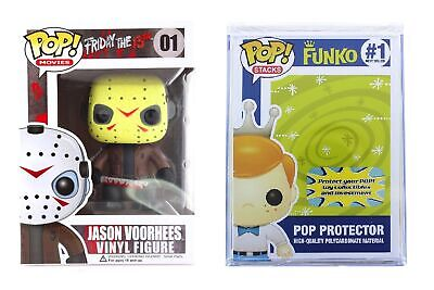 Funko Pop Horror Movies: Friday The 13th- Jason Voorhees + FUNKO PROTECTIVE CASE