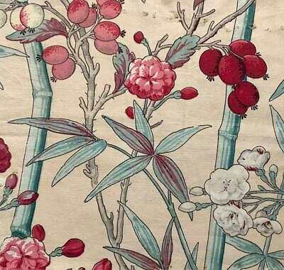 BEAUTIFUL EARLY 19th CENTURY FRENCH BLOCK PRINT INDIENNE 20.