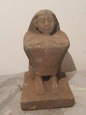 Rare Antique Ancient Egyptian Scribe sitting Minister Governer1920-1840BC