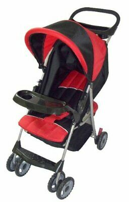 Convenient Stroller With Front/Rear Tray