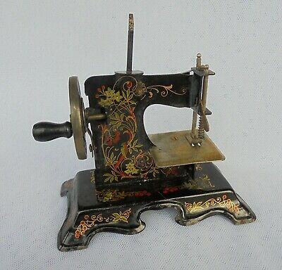 Antique Miniature Toy Sewing Machine
