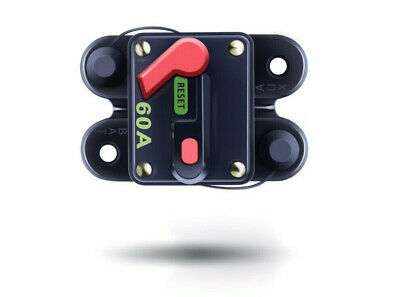 Circuit Breaker Reset Fuse,waterproof 12/24v 60A - 300A