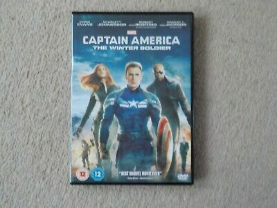 Marvel Captain America The Winter Soldier Dvd