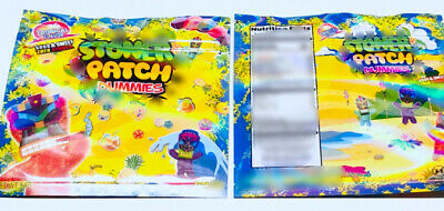 50 bags Tropical Stone Patch bags Mylar Empty cookies Bags