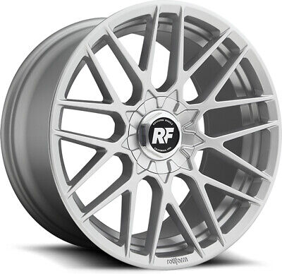 "Alloy Wheels 20"" Rotiform RSE Silver For MG GS 16-19"
