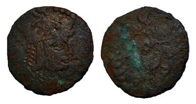 (14648) Ancient Khwarizm AE, The Afrighid dynasty, late 6th C. - AD 995.