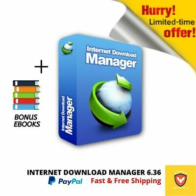 Internet Download Manager 6.36 Build Latest (IDM) |LifeTime|Fast Delivery|2020