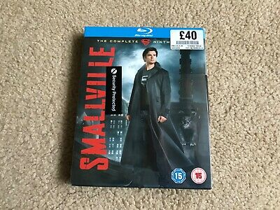 SMALLVILLE Complete Series 9 Blu Ray Ninth - New & sealed