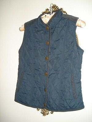 Girls NEXT Navy Blue Gillet Bodywarmer Aged 11-12 Years