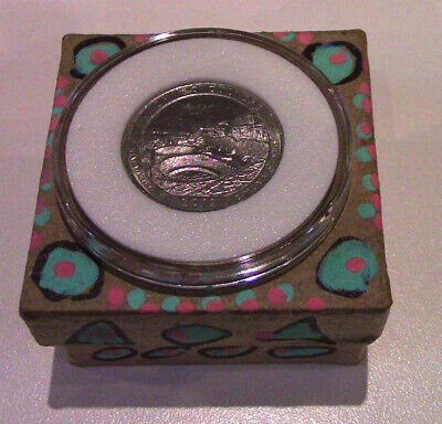 """Past Life Relic - Your """"Chaco Canyon UFO Contact Portal Coin"""" Comes Home to You!"""