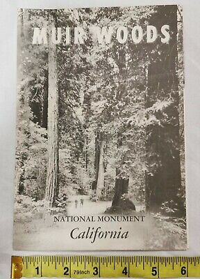 1963 Muir Woods National Monument California Travel Brochure Park Guide